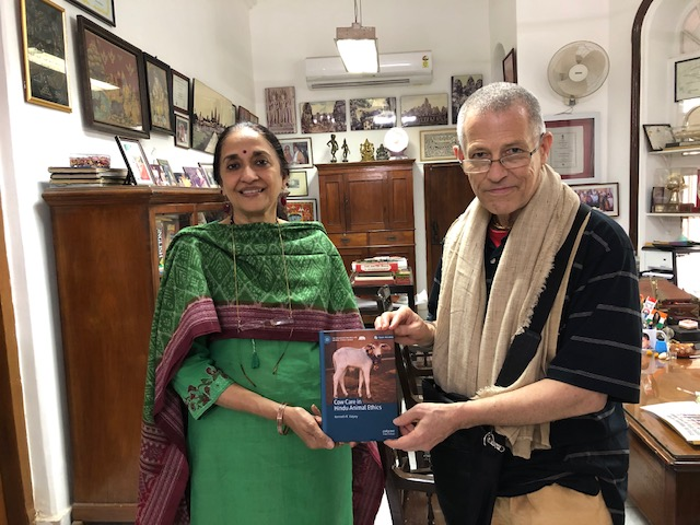 Dr Kenneth R Valpey with Dr Nandita Krishna